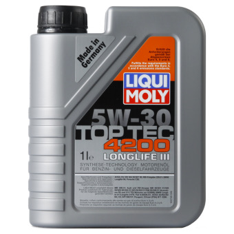 liqui moly top tec 4200 5w 30. Black Bedroom Furniture Sets. Home Design Ideas