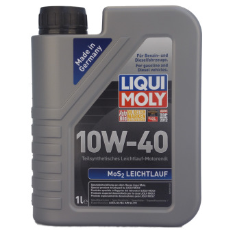 liqui moly mos2 leichtlauf 10w 40. Black Bedroom Furniture Sets. Home Design Ideas