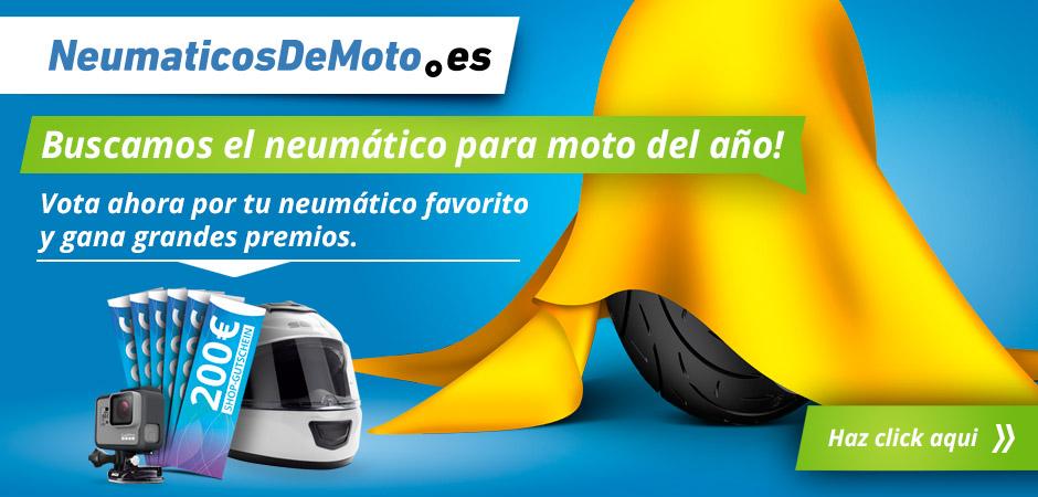 Neumático para moto del año 2019
