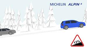 MICHELIN Alpin 6 Traktions Vorteile