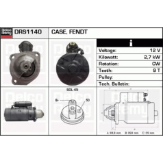 Remanufactured DELCO REMY (Heavy Duty), Starter