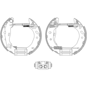 Shoe Kit Pro, Brake Shoe Kit