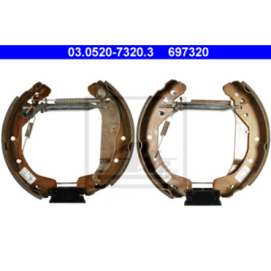 Original ATE TopKit, Brake Shoe Kit