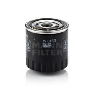 mann filter filtre huile moteur w 815 5 filtre huile pi ces auto at. Black Bedroom Furniture Sets. Home Design Ideas