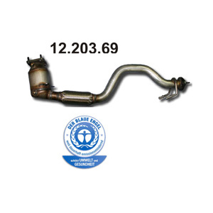 """Blue emission"", Catalytic Converter"
