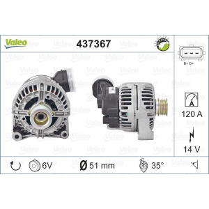 REMANUFACTURED PREMIUM, Alternator