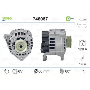 REMANUFACTURED CLASSIC, Alternator