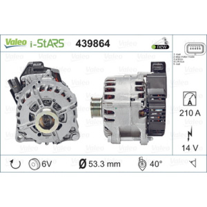 NEW STOP&START ORIGINAL PART, Alternador