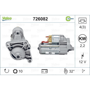 REMANUFACTURED CLASSIC, Motorino d'avviamento