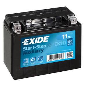 exide start stop auxiliary batterie starterbatterie ek111 batterie autoteile. Black Bedroom Furniture Sets. Home Design Ideas