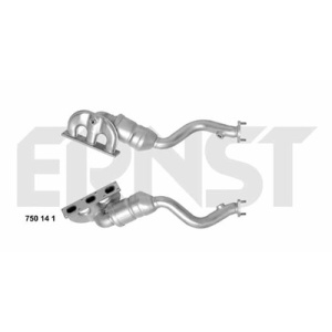 Set, Catalytic Converter, Manifold Catalyst