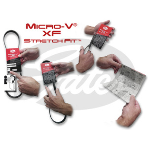 Micro-V® Stretch Fit®, Correa, Correa poli V