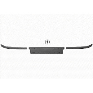 Trim/Protective Strip, Bumper