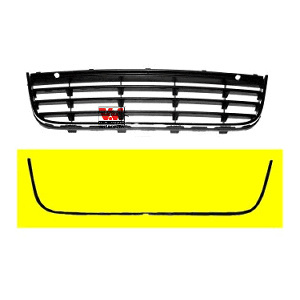 Trim/Protective Strip Set, Radiator Grille