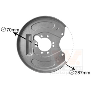 Shield, Brake Disc