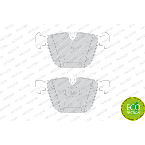 PREMIER ECO FRICTION, Kit pastiglia freno/materiale d'attrito