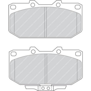 PREMIER ECO FRICTION, Brake Pad Set