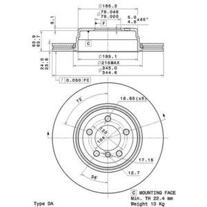 brembo coated disc line brake disc 09 brake. Black Bedroom Furniture Sets. Home Design Ideas
