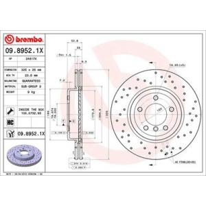 brembo xtra line brake disc brake disc car. Black Bedroom Furniture Sets. Home Design Ideas