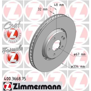 zimmermann formula z disque de frein disque de frein disque de frein pi ces. Black Bedroom Furniture Sets. Home Design Ideas