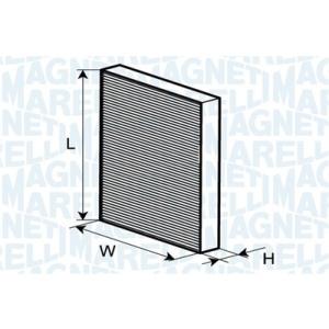 Magneti marelli filtro aria abitacolo 350203061220 for Filtro aria abitacolo camry
