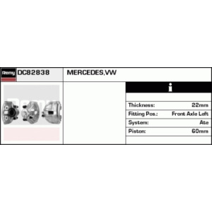 Remanufactured REMY (Multiline), Bremssattel