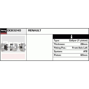 Remanufactured REMY (Multiline), Pinza de frenos