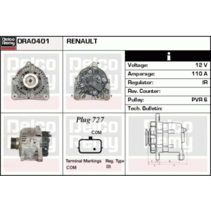 Remanufactured REMY (Light Duty), Alternatore