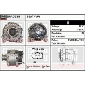Remanufactured REMY (Light Duty), Alternador