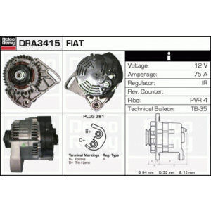 DELCO REMY Alternator/- Parts buy cheap online