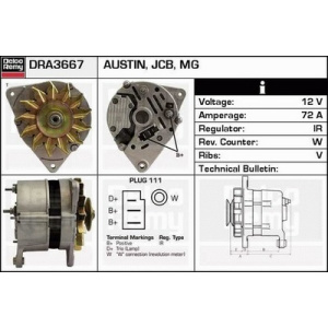 Remanufactured DELCO REMY (Heavy Duty), Alternatore