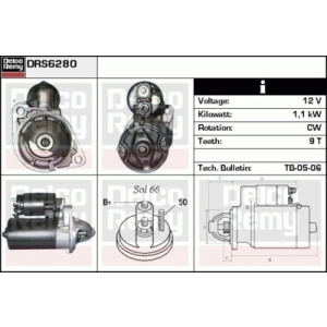 Remanufactured REMY (Light Duty), Starter