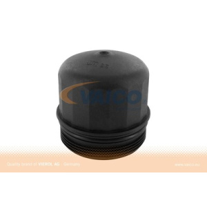 Original VAICO Quality, Lid, Oil Filter Housing