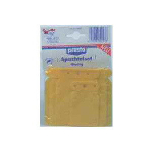 presto Spachtel Set Plastik, Spachtelmasse, Universal