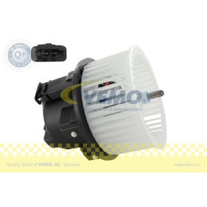Q+, original equipment manufacturer quality MADE IN GERMA, Fan, Suction, cabin air