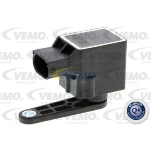 Q+, original equipment manufacturer quality MADE IN GERMANY, Sensor, Headlight Range Adjustment
