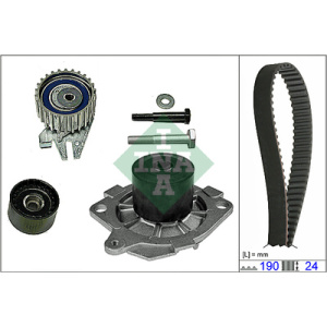 Water Pump-/Timing Belt Set