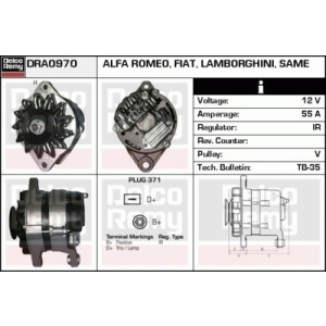 Light Duty Europe Reman, Alternador
