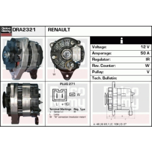 Light Duty Europe Reman, Generator