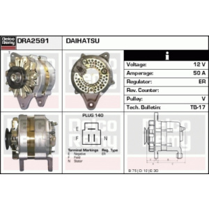 Light Duty Japan Reman, Alternatore