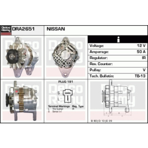 Light Duty Japan Reman, Generator