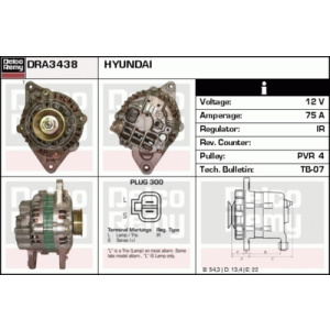 Light Duty Japan Reman, Alternador