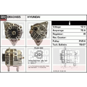 Light Duty Gold New, Alternador
