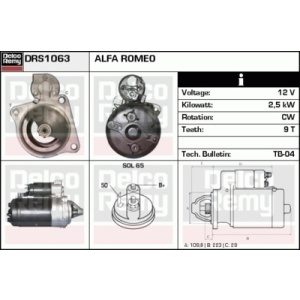 Heavy Duty Reman, Motorino d'avviamento