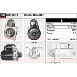 Light Duty Europe Reman, Starter