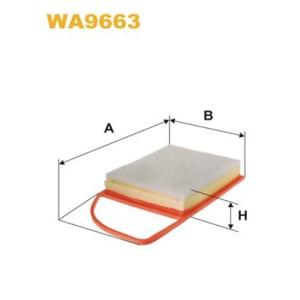 wix filters filtre air wa9663 filtre air pi ces auto at. Black Bedroom Furniture Sets. Home Design Ideas