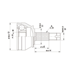 Joint Kit, Drive Shaft