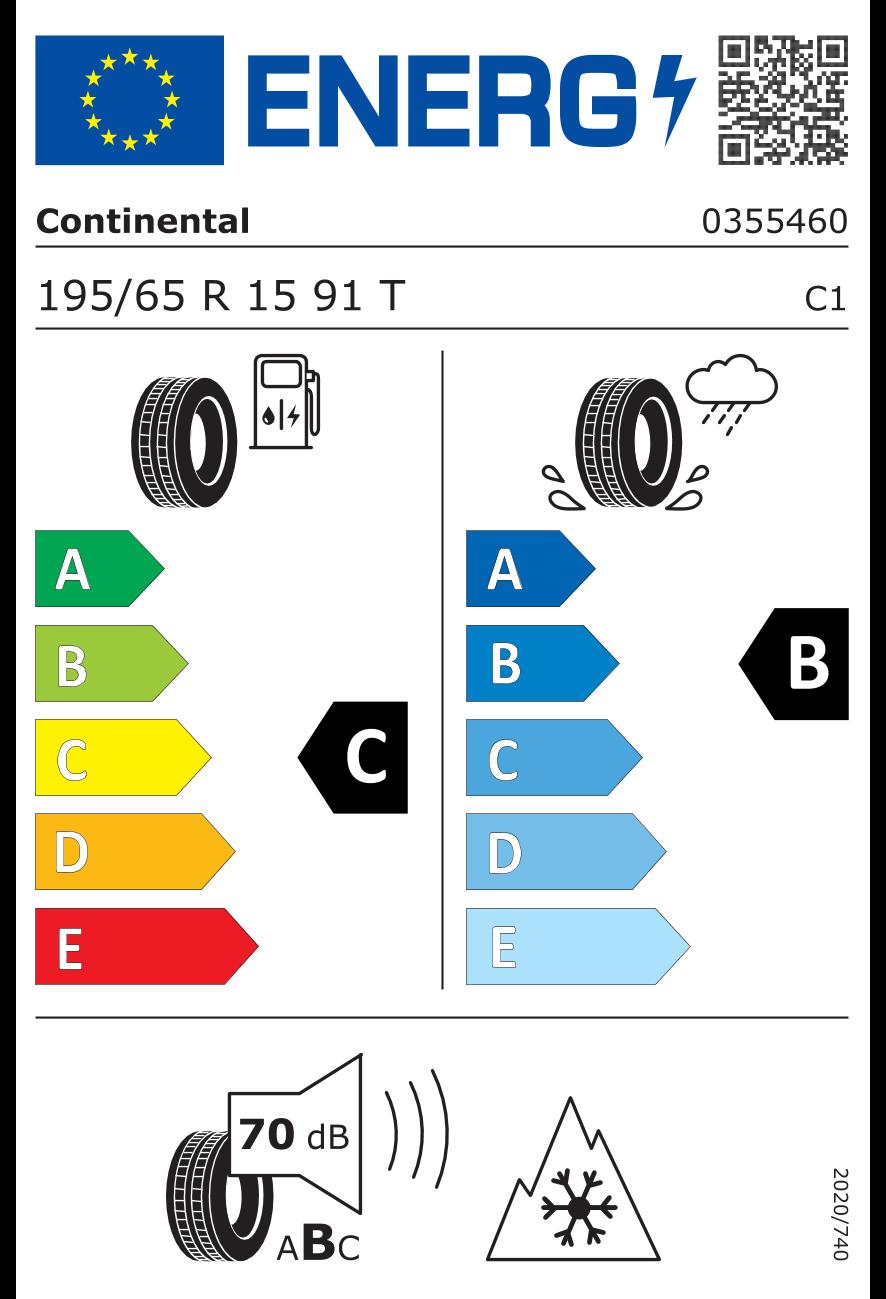 Eticheta pentru anvelope / Clasa de eficiență