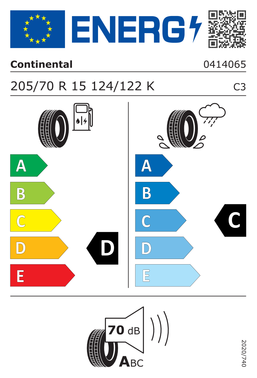 EU-däckmärkning / Effektivitetsklasser