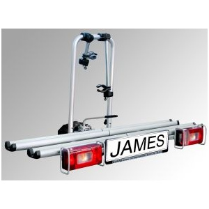 "supporto per traino ""James"" per 2 biciclette"